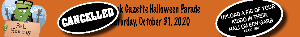 The Halloween Parade has been cancelled