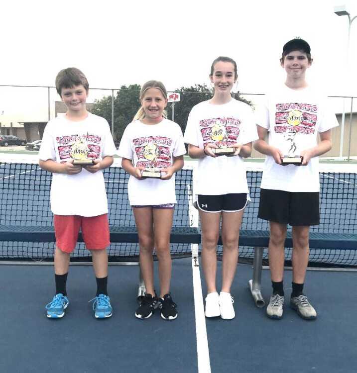 Champions earn honors at McCook Tennis Camp