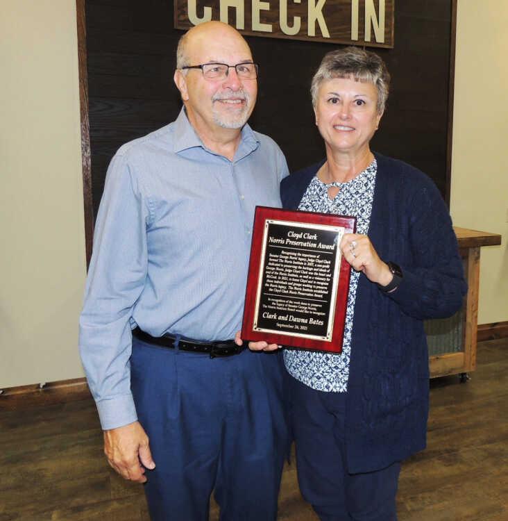 Cloyd Clark award bestowed on McCook couple
